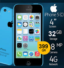 Apple iPhone 5C 32 GB,8MP,4G AND MORE ...