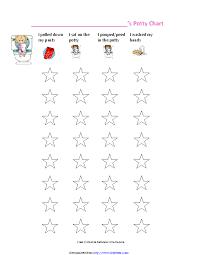 Girls Potty Training Chart Pdfsimpli
