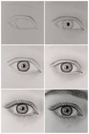 How To Draw Eyes Step By Step How To Draw Realistic Eye Step By Step Youtube In 2019