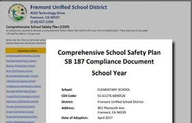 Reports (Spsa, Sarc, Fact Sheet, Safety Plan) / Overview