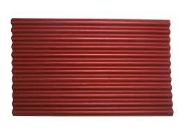 ondura red roofing sheet