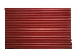 ondura red roofing sheet