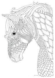 Coloring Pages Horse
