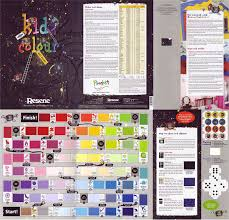 Resene Paints Ltd Resene Kidzcolour Chart