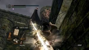 Great Lighting Spear Dark Souls Hellkite Dragon Easy And Fast With Lightning Spear