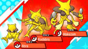 How to Catch ABRA and Evolve it into KADABRA (level 16) and ALAKAZAM (trade)  - Pokemon Sun & Moon - YouTube