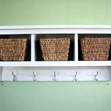 wall storage shelf with hooks. Wall In Storage Shelf With Hooks