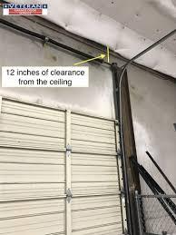 high lift garage doorCan I convert a standard garage door to a high lift