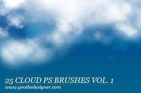 Cloud Photoshop Brushes Free Cloud Photoshop Brushes Vol 1 248 Brushking