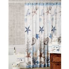 Awesome Seashell Fabric Shower Curtain with Additional Bathroom Cheap Fabric  Shower Curtains with Nautical Shower Curtain
