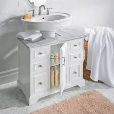 Marble pedestal sink Stone Impressive Marble Pedestal Sink In Cabinet With Top Improvements Horseshoe Hardware Romantic Marble Pedestal Sink At White By Challengesofaging