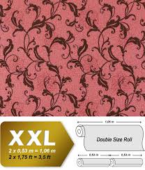 Behang Vintage Edem 600 94 Vliesbehang Bloemen Patroon Xxl Behang
