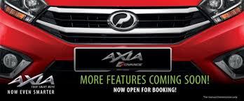 perodua new release carPerodua Axia facelift new details  new tailgate handle projector