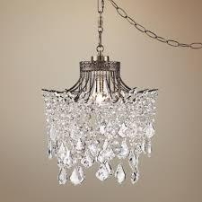 plug in swag pendant light. Brielle Antique Brass 12\ Plug In Swag Pendant Light G