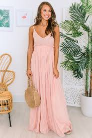 Light Pink Lace Maxi Dress Once In A Lifetime Light Pink Maxi Dress Pink Lily
