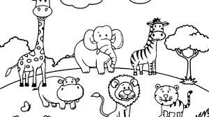 baby zoo animals coloring pages. Baby Zoo Animal Coloring Pages Strikingly Ideas Cute Printable By Animals On Excellent Idea Free For With