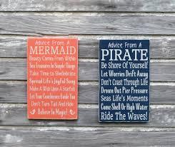 Nautical Childrens Bedroom Nautical Nursery Wall Art Decor Pirate Kids Beach Sign The Sign