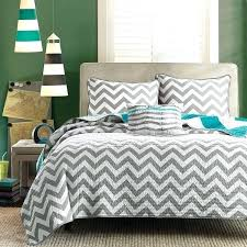 gray and white chevron bedding teal and black comforter sets striped bed decor bedding teal white