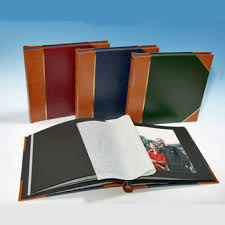 Photot Albums Heritage Classic 3 Traditional Photo Album Black Pages Harpers