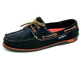 Gant Classic Navy Mens Boat Shoes Size Us 9 Eu 42 Uk 8 5 Ebay