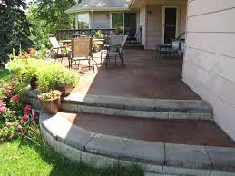 stained concrete patio gray. Stained Concrete Patio Gray