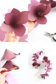 Paper Flower Cricut Template 026 Template Ideas Wisteria Flowers Tutorial Paper Flower