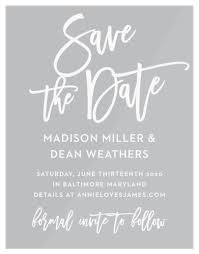 Save The Date No Photo Save The Date Cards Match Your Colors Style Free