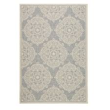 home decorators collection cleo multi grey 2 ft x 3 7 in area outdoor rugs