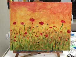 Acrylic Painting Ideas for Beginners Located in Dallas, Ardor Studio  provides step by step canvas