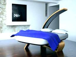 ultra modern bedroom ultramodern interior with double bed against panorama windows furniture sets
