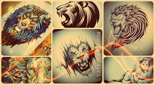 лев тату эскизы лучшие рисунки для новой татуировки Tatufotocom