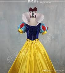 Real Luxury Adult Children Girls Anime Snow White Princess Queen Cosplay  Gown Ball With Cloak Long Dress/Ball Gown/Customs Make Costumes For Groups  Of 8 ...