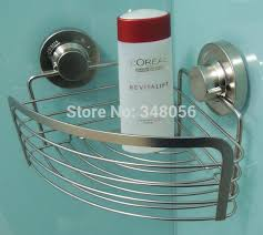 suction cup shower caddy accessories 2 tier ha wont stick