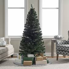 Multicolor LED Artificial Christmas Trees6 Foot Christmas Tree With Lights