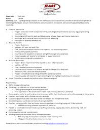 Senior Accountant Job Description Template Templates Cover Letter