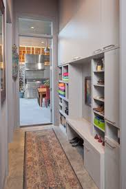 one more simple idea for open shelves combined with shoe storage