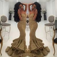 Wholesale Gold <b>Designer Evening</b> Dress - Buy Cheap Gold ...
