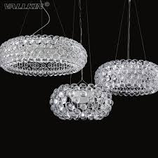 vallkin foscarini caboche pendant lights led chandelier lamp by patricia urquiola for bedroom modern ac110 240v ceiling clear acrylic ball pendant light