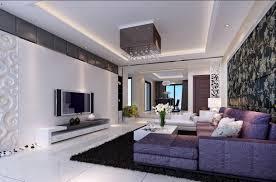 Luxury Living Room Design Purple And Gray Living Room Living Room Design Ideas
