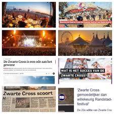 Pers Media Feestfabriek Zwarte Cross 2018