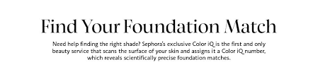 Foundation Match Chart Sephora Pantone Color Iq