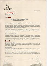 Medical Termination Letter Dubai International Airport Truth About Emirates Airline