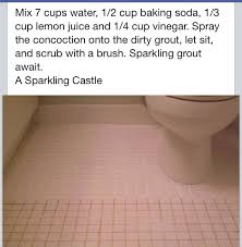 Cleaning Bathroom Tile Gorgeous How To Clean Tiles Grout Life Hacks And Home Repair Pinterest