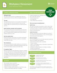 How To Make A Quick Reference Guide Workplace Harassment Quick Reference Guide Velsoft Blog