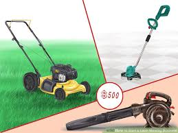 How To Start A Lawn Mowing Business With Pictures Wikihow