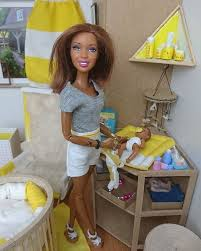 On days like this, Avery is almost in her diapers and gets clothed in the  evening ❤❤❤ | Barbie doll accessories, Doll clothes barbie, Barbie dolls