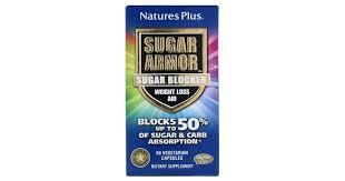 Nature's Plus <b>Sugar Armor</b> Carb <b>Blocker Weight</b> Loss Aid 60 ...