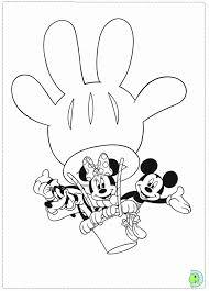 Kleurplaat Mickey Mouse Clubhuis Geïnspireerd 8 Mickey Mouse Club