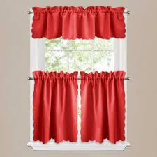 Yellow And Red Kitchen Curtains Kitchen Kitchen Garden Window Curtains With Kitchen Curtains