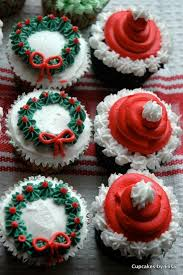Cupcake Decorating Accessories Dulcet Christmas Themed Cupcakes Designs Trends100usCom 65
